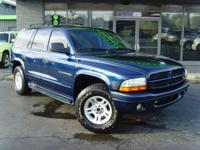 Options Included: N/A2001 Dodge Durango