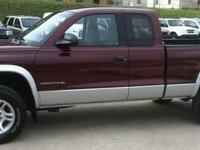 2001 Dodge 1500 Ext cab 4x4 pick up with a 8 ft bed.