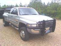 2001 Dodge Extended Cab 4 x 4 Dully  1 ton 4 x 4 dull