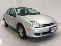 Options:  2001 Dodge Neon Se|Silver|*Alloy Wheels|Power