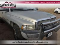 Silver 2001 Dodge Ram 1500 SLT RWD 4-Speed Automatic