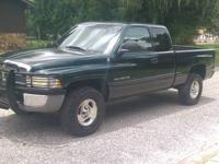 I have a 2001 Dodge Ram 1500 for sale. The truck comes