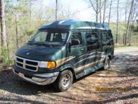 2001 Dodge Ram High Top Conversion Van. 318 Motor. 5.9