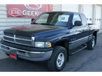One Owner, 4x4 Dodge Ram. Runs great. Low miles for the