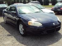 Options Included: Moon RoofSharp 2001 Dodge Stratus SE