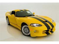 2001 DODGE VIPER GTS EXOTIC CLASSICS IS PLEASED TO