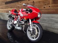 2001 Ducati MH900E Mike Hailwwod with only 8,250 miles.