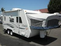 LITE WEIGHT HYBRID, EASY TO TOW, SLEEPS 6 WITH A/C!