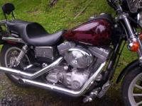 i have a 2001 dyna super glide,7800 miles on it not