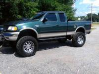 2001 f150 xlt 6 inch fabtec suspenion lift 4 inch body