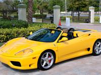 2001 Ferrari 360 Spider with F1 Transmission in a Rare