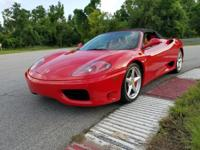 *** 2001 Ferrari 360 Spider *** CARFAX: Buy Back