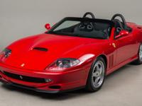 2001 Ferrari 550 Barchetta VIN: ZFFZR52A810124357