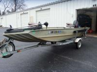 2001 Fisher MV 1648 AW GREAT STARTER FISH OR CRUISE