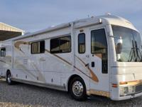 2001 American Eagle with 2 slides,49,270 miles! This RV