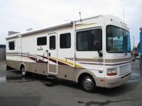 2001 Fleetwood Bounder 32ft. Double Slide on the Ford