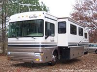 Design 39Z with slide-out. Perfectly geared up coach