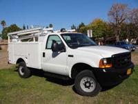 2001 Ford 01' Ford F-350 4x4 Utility Truck 01' Ford