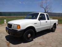 2001 Ford 01' Ford Ranger 4x4 Pickup 01' Ford Ranger