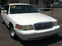 2001 V8 Ford Crown Vic. 130k miles with Cold Air. Power