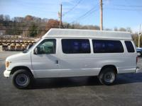 2001 FORD E350 HIGH RISE, WELL MAINTAINED AUTOMATIC