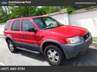 2001 Ford Escape Our Location is: AutoNation Ford