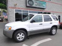 A well equipped 2001 Ford Escape XLT model featuring a