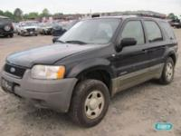 Options Included: N/AFord Escape SW V6 3.0L - right