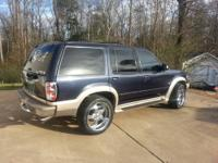Up for sale is a 2001 explorer 5.0 v8 AWD. It has