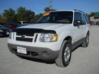 Options Included: N/A2001 Ford Explorer Sport 2 dr.