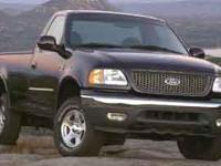 Come test drive this 2001 Ford F-150! It comes equipped