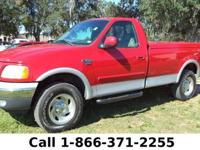 2001 Ford F-150 XL Features: Keyless Entry - Hitch