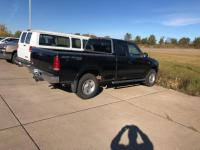 Black 2001 Ford F-150 XLT 4WD 4-Speed Automatic with