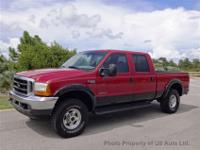 Built Ford tough and rugged, this 4-Wheel Drive F-250