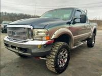 2001 Ford F250 Super Duty XLT 7.3 turbo diesel, this