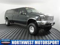 Clean Carfax Lifted 4x4 7.3L Diesel Truck with Canopy!