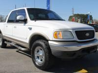 2001 Ford F-150 4WD 4-Speed Automatic with Overdrive