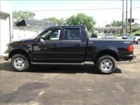 Options Included: N/A2001 FORD F150 SUPER CREW LARIET