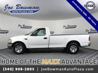 New Price! Clean CARFAX. 2001 Ford F-150 XL Oxford