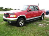Options Included: N/A2001 Ford F150 SuperCrew XLT 4x4 -
