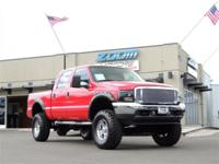 Our 2001 Ford F-250 Super Duty, Crew Cab is ready and