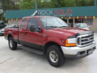 Options Included: N/AThis 2001 Ford F250 Super Duty