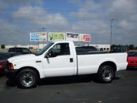 Options Included: N/A'01 Ford F-250 XL LB 2WD with a