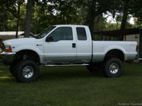 2001 Ford F250 XLT Supercab.  One owner - 99,586
