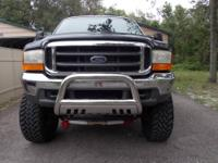 f350 super duty truck, 9 inch lift, triton v8 5.4