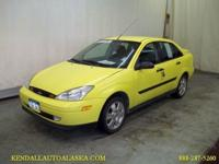 Options Included: N/AThe 2001 Ford Focus is one of the