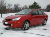 Our 2001 Ford Focus SE is the perfect vehicle to keep