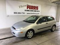 Options:  2001 Ford Focus Zx3|5 Speed! Right Car! Right