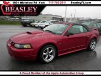 Local Trade and Leather seats. Mustang GT, 2D