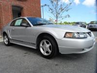ONLY 64K MILES ON THIS 2001 FORD MUSTANG! POWER OPTIONS
